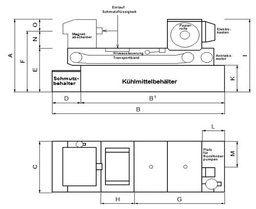 RWS 60-260 Technische Zeichnung